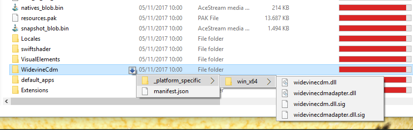 missing component netflix google chrome