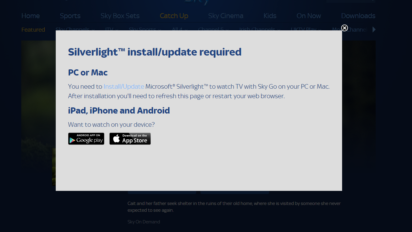 microsoft silverlight android download