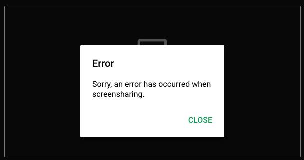 Google Meet Screen share | Opera forums
