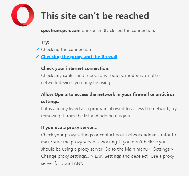 Opera Browser Not Supported | Opera forums