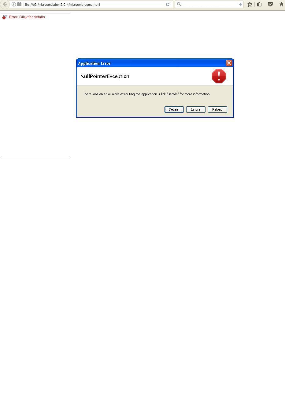Cannot use opera-mini emulator | Opera forums