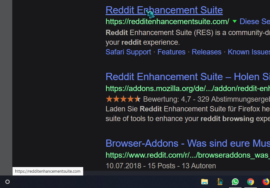 Can you change the mouseover-url-bar from light to dark
