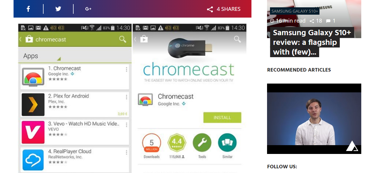 Chromecast Option in Opera | Opera forums