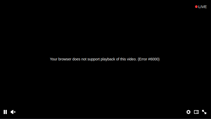 Error #6000 on Twitch | Opera forums