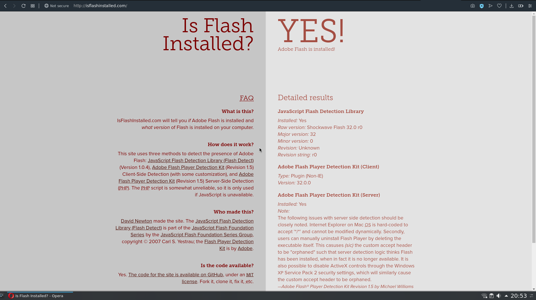 Flashplayer not working | Opera forums