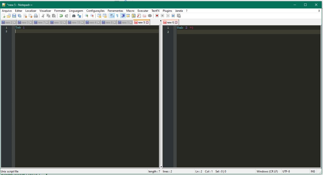 Split browser windows 10