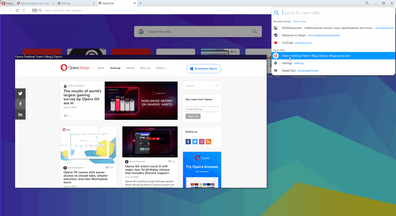 Opera 72.0 Build 3815.320  Full Free Download 2021